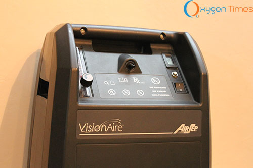 AirSep Visionaire Front Panel